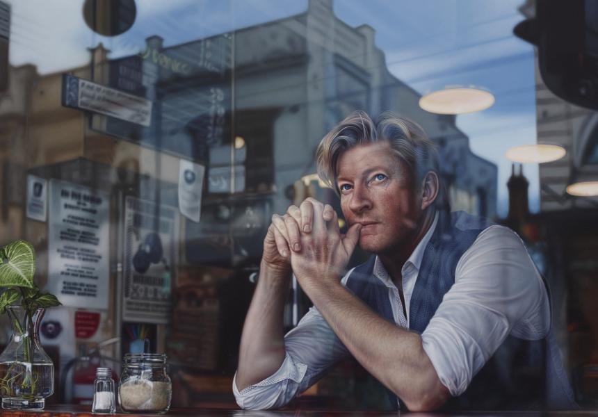"Tessa Mackay, ""Through the looking glass"", oil on linen 210 x 330.5 cm © the artist"