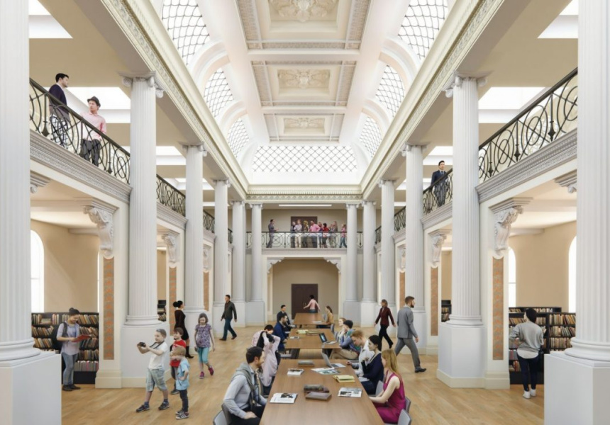 Vision 2020 design for the refurbished Ian Potter Queen's Hall