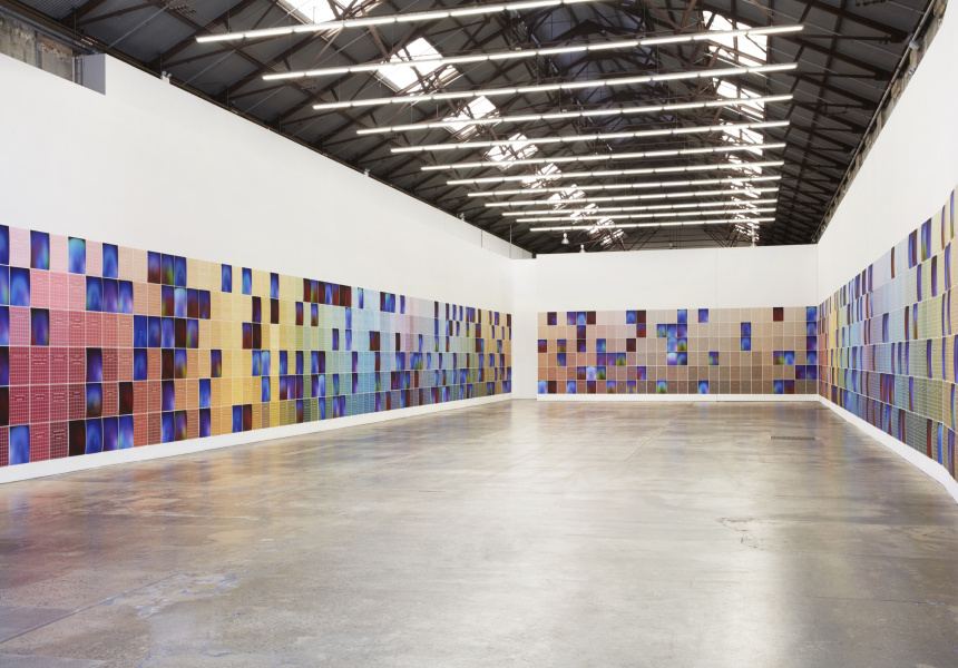 Kate Mitchell, All Auras Touch, 2020, Carriageworks.