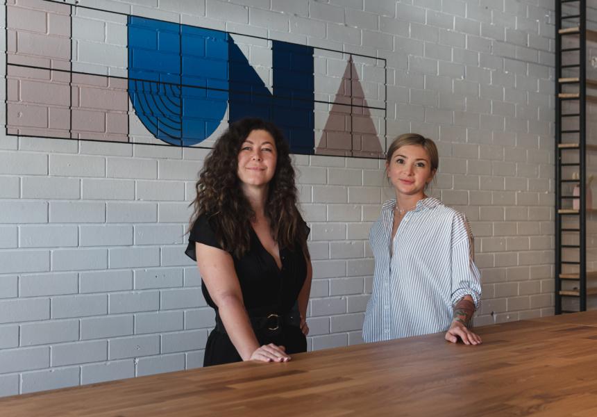 Marina Tazhdynova and Olga Baranova