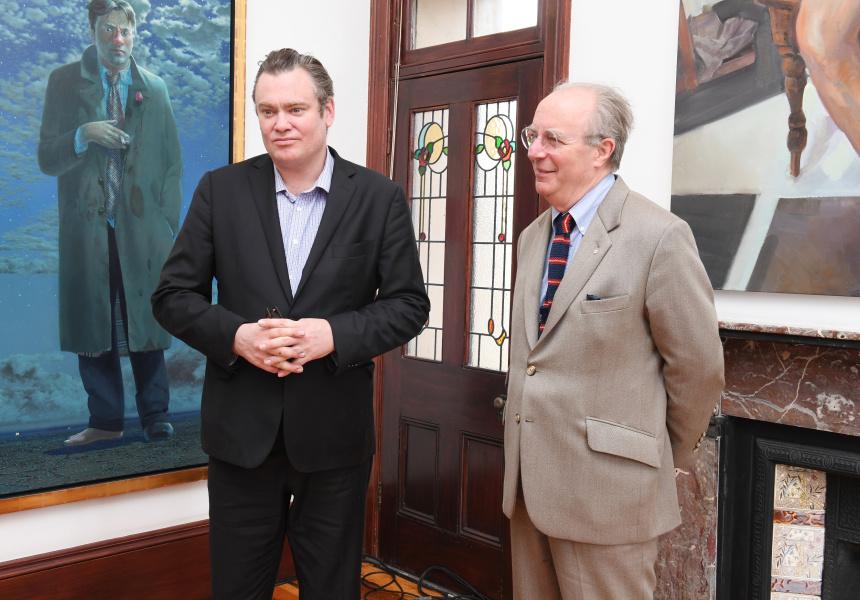 Tim Storrier & McLean Edwards