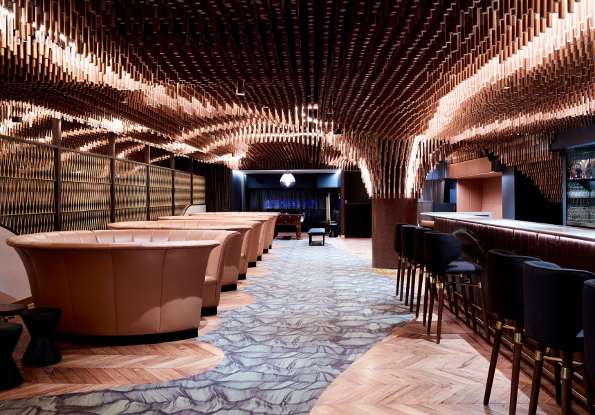 At melbourne s new luxury bowling alley see how the one - Interior decorator cost per hour ...
