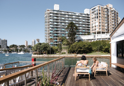 First look elizabeth bay marinas new cafe the lookout