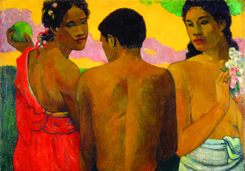 Paul Gauguin  Three Tahitians 1899  oil on canvas  73 x 94 cm  © Trustees of the National Galleries of Scotland - AGNSW