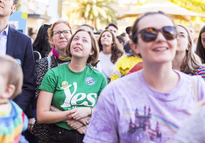 Australia says yes to same-sex marriage.