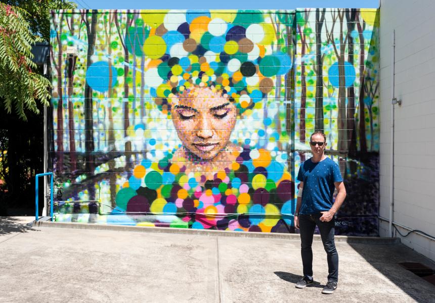 Street artist Jimmy C