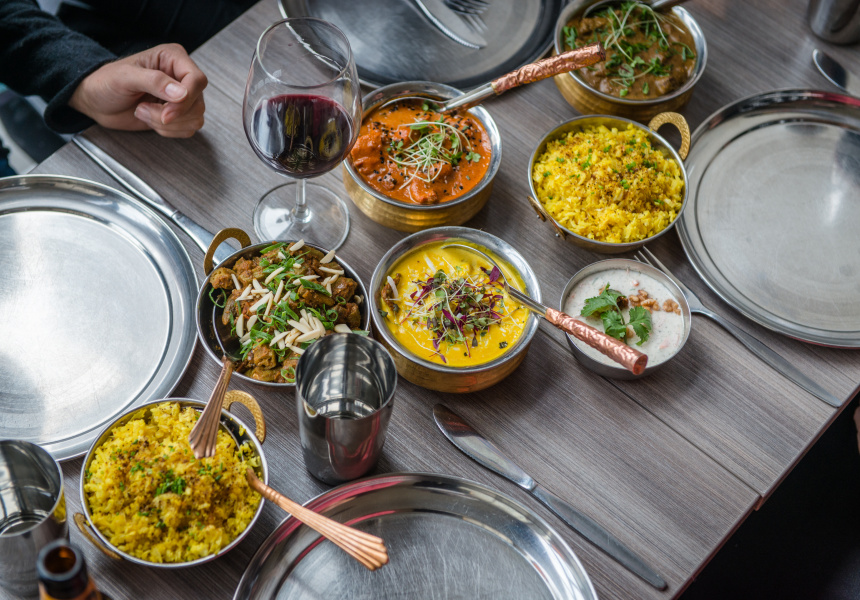 all you can eat vegan tuesdays at babu ji