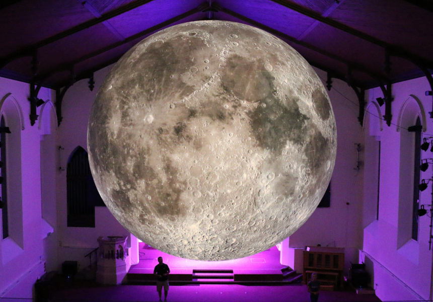 Museum of the Moon at Lakes Alive, UK