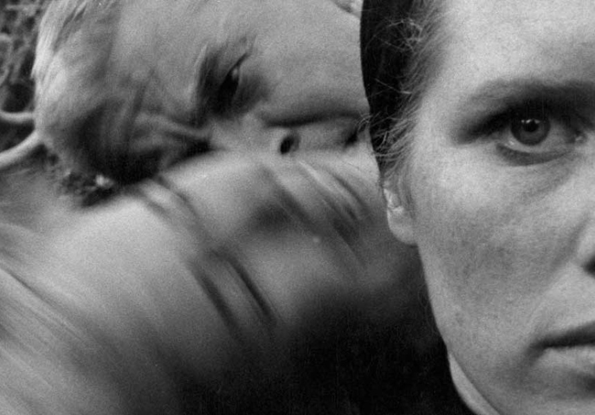A still from Ingmar Bergman's Persona