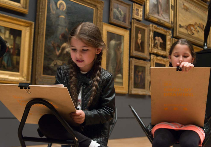 Let's Draw at the NGV