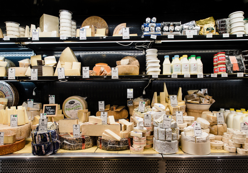 The Smelly Cheese Shop at Central Market