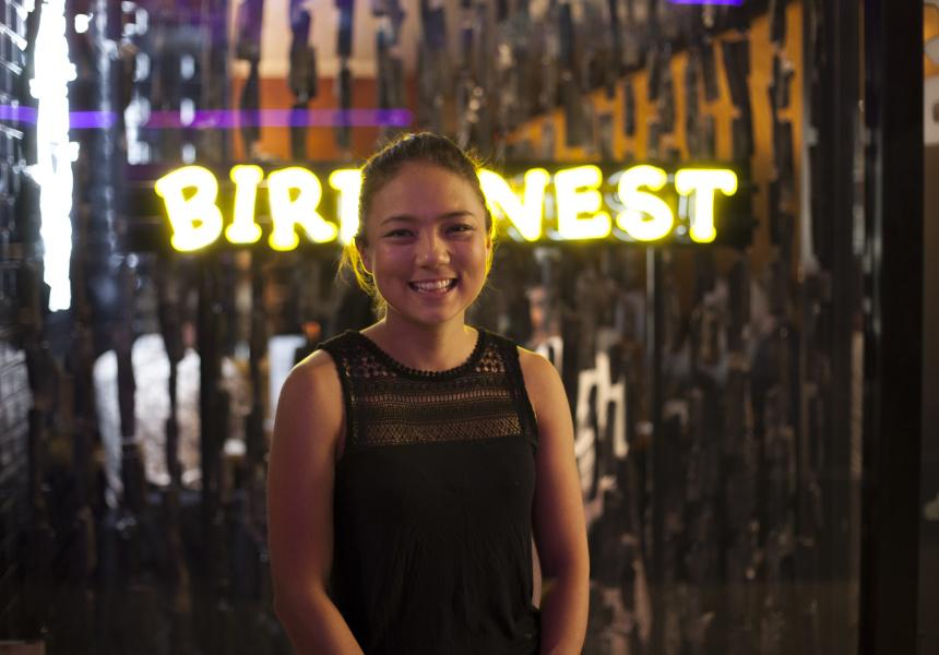Bird's Nest Yakitori co-owner Marie Yokyama.