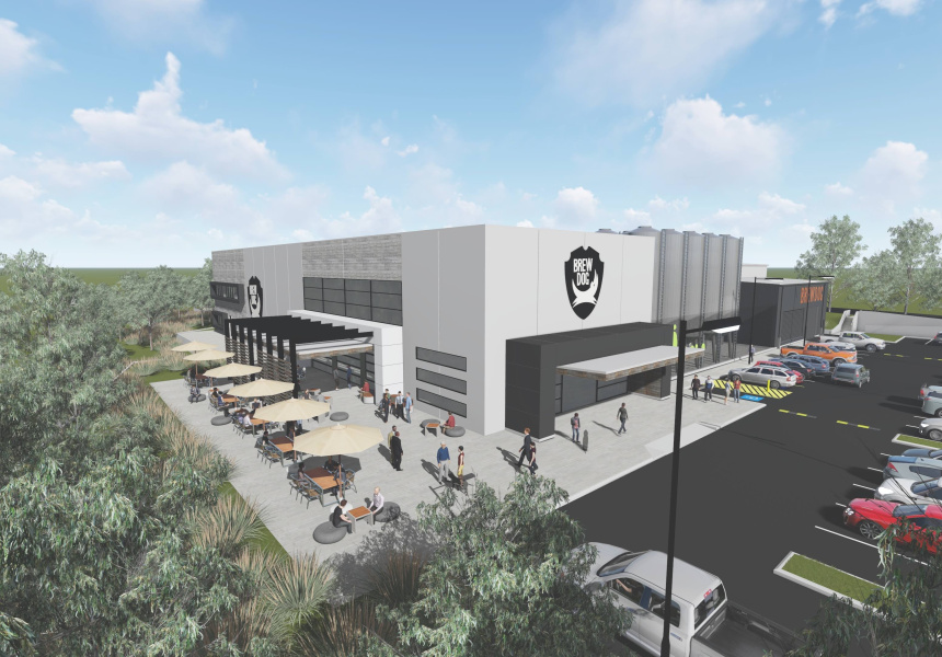 Artist's impression of the Murarrie brewery (Image: supplied).