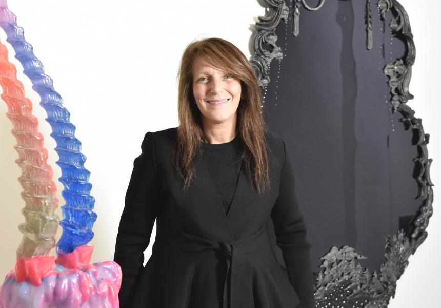 Finkelstein Gallery director Lisa Fehily