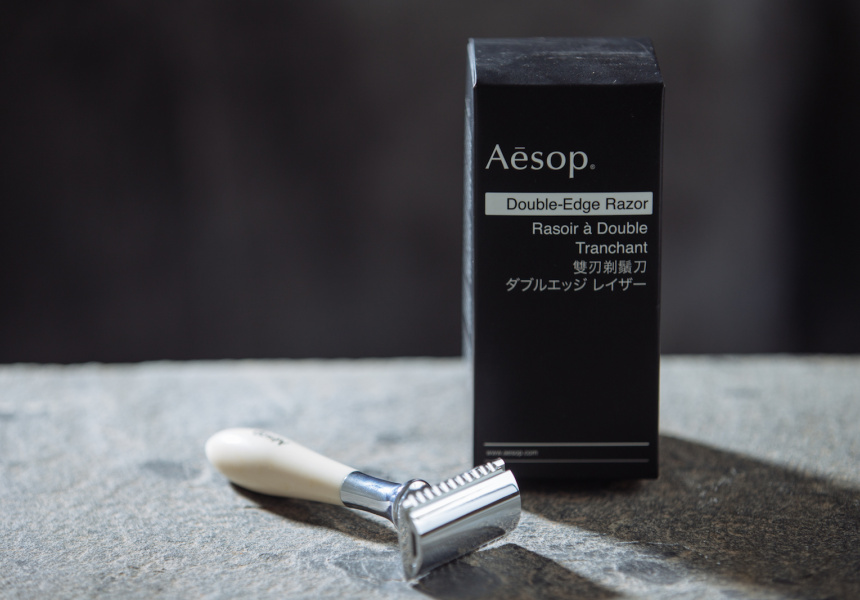 Aesop's double-edge razor