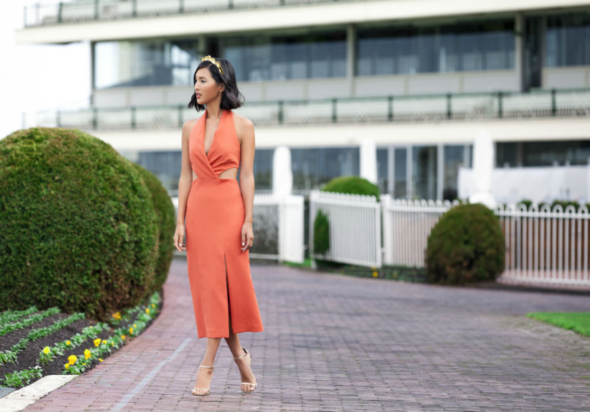 Nicole Warne, Gary Pepper Girl and Caulfield Cup style ambassador.