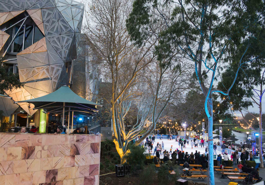 An open air ice skating rink is coming to federation for 150 adelaide terrace perth