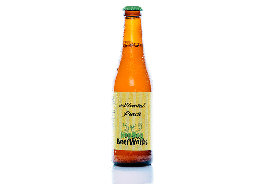 HopDog BeerWorks Alluvial Peach - New South Wales