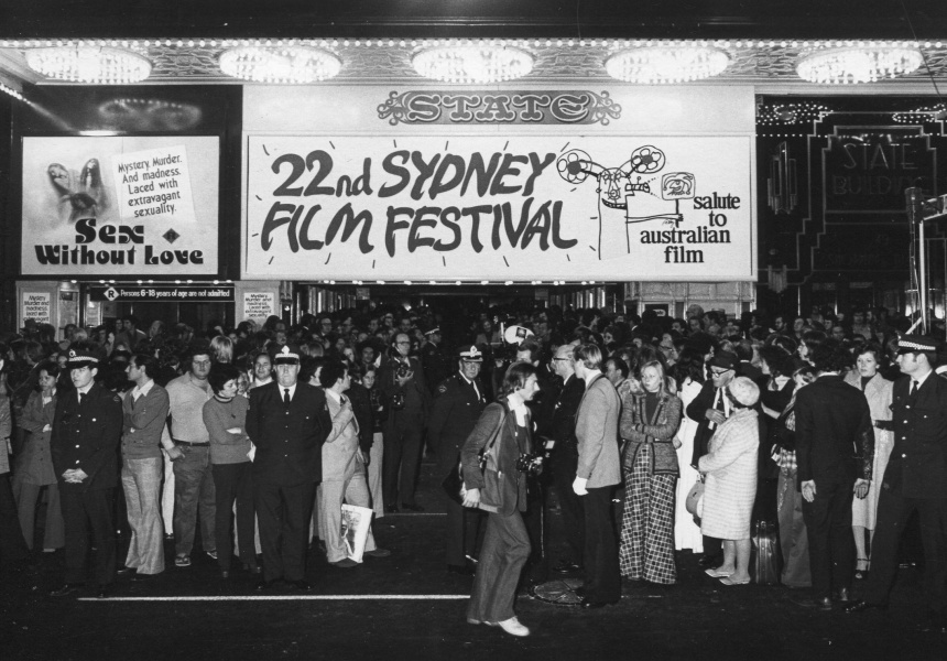 1975 - Opening Night on Market Street