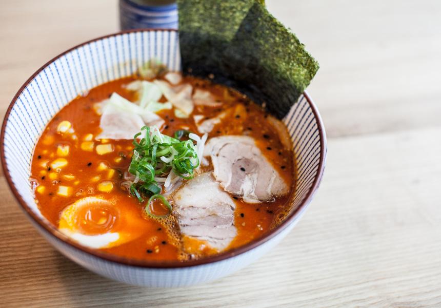 Ryo's spicy miso ramen.