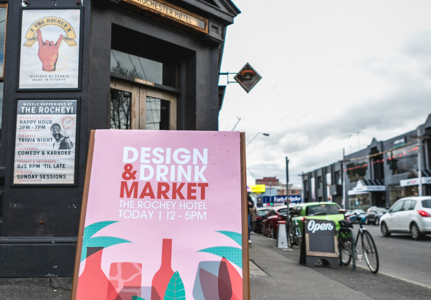 Design & Drink Market at the Rochey