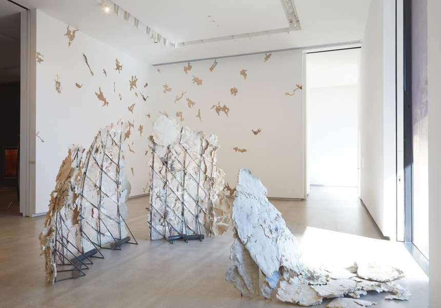 TarraWarra Biennial 2018: From Will to Form installation view of Isadora Vaughan, Canker Sore 2018 TarraWarra Museum of Art, 2018. Courtesy of the artist and STATION, Melbourne