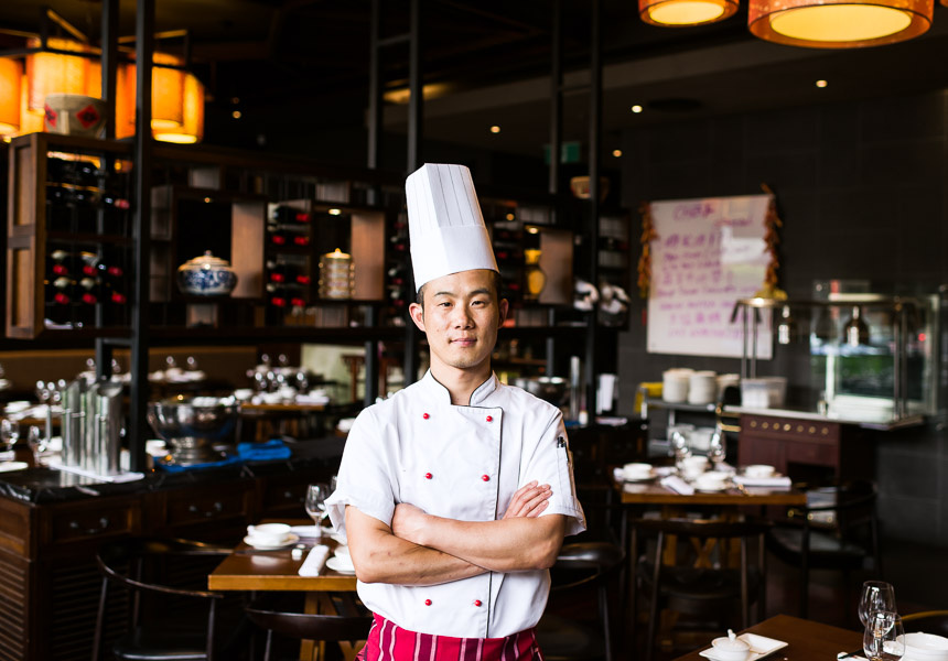 Head chef Jun Jing Hua