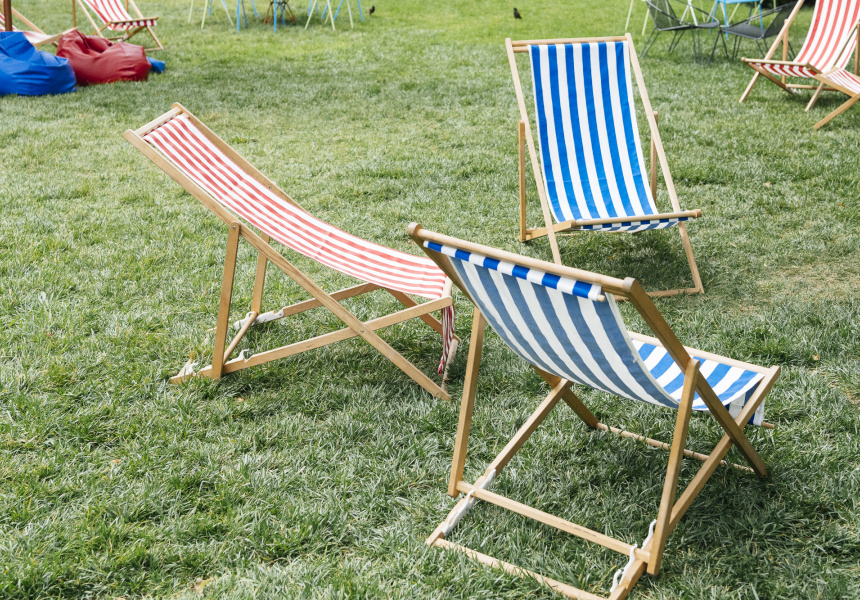 Lounge chairs by Dann Event Hire