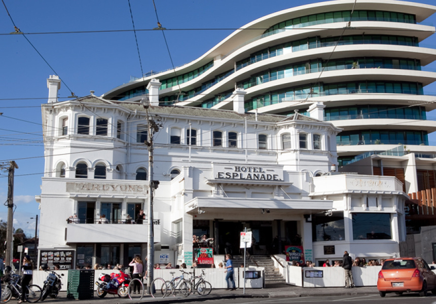 The Esplanade Hotel in St Kilda