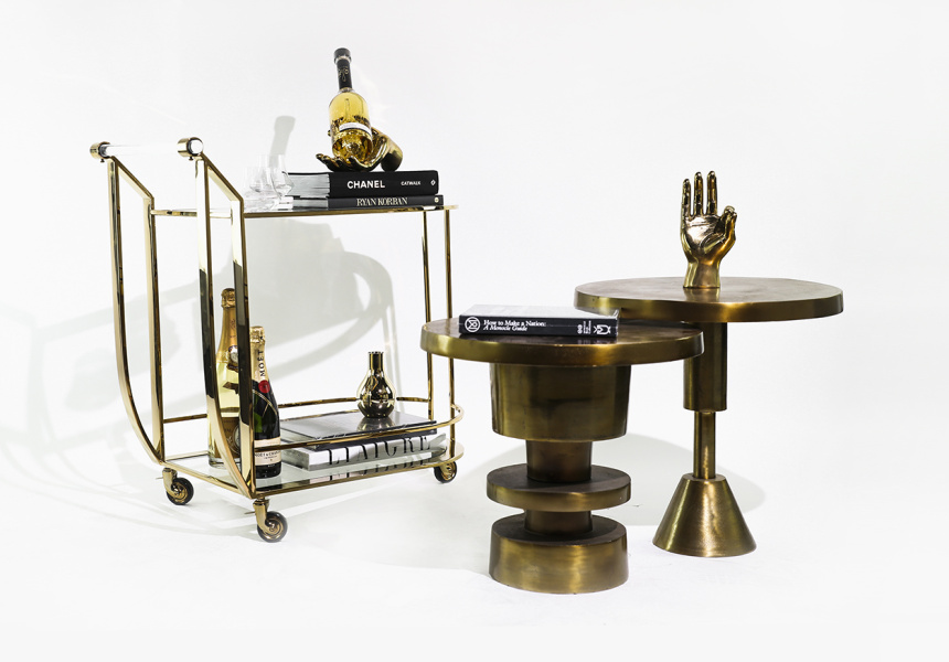 Bar Cart from The Cool Hunter