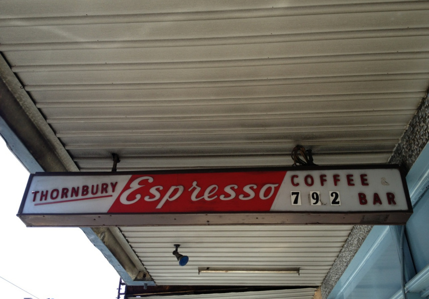 Thornbury Espresso Bar, which Di Stasio remembers visiting as a child with his father.