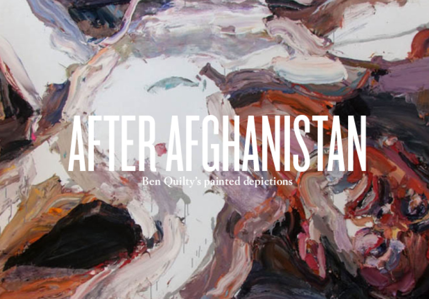 Ben Quilty, Captain S, after Afghanistan