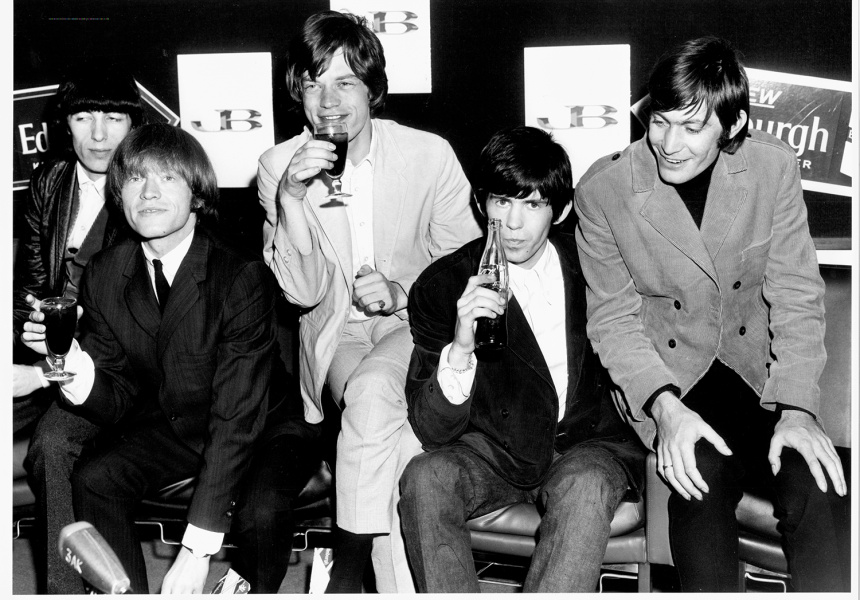 The Rolling Stones by Harry Jay