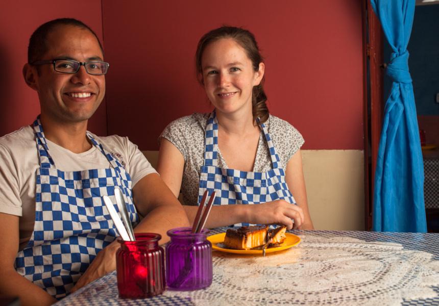 Gerardo Lopez and Diana Hull of La Tortilleria, Melbourne.