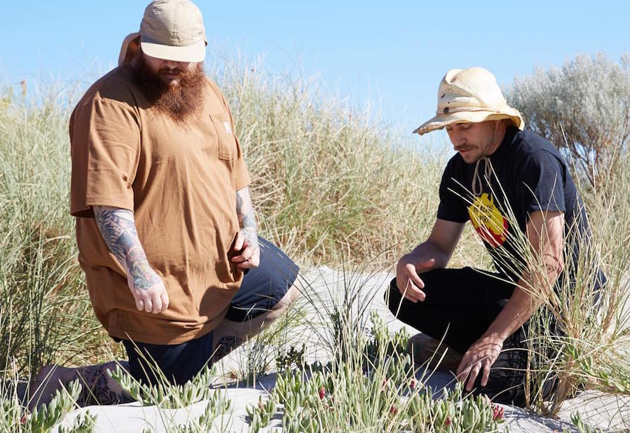 Action Bronson and Paul Iskov.