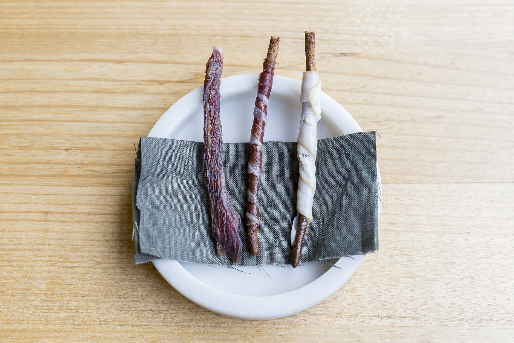 Cured meats and grissini