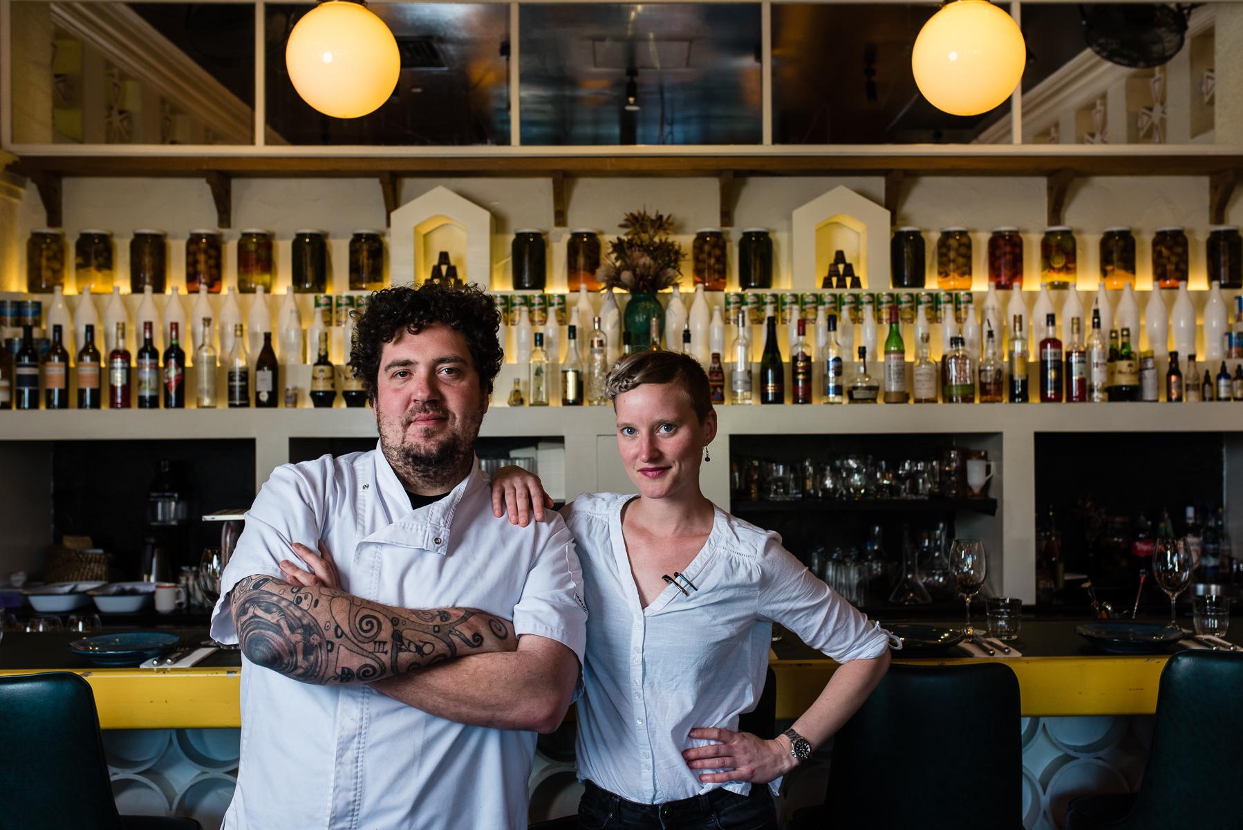 Duncan Welgemoed and Imogen Czulowski