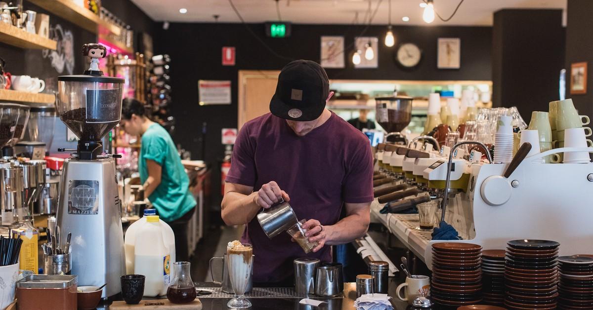 Pure Boutique Coffee Bar Broadsheet