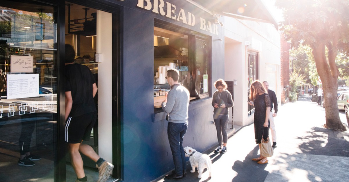 organic bread bar opens an eatery in darlinghurst broadsheet. Black Bedroom Furniture Sets. Home Design Ideas