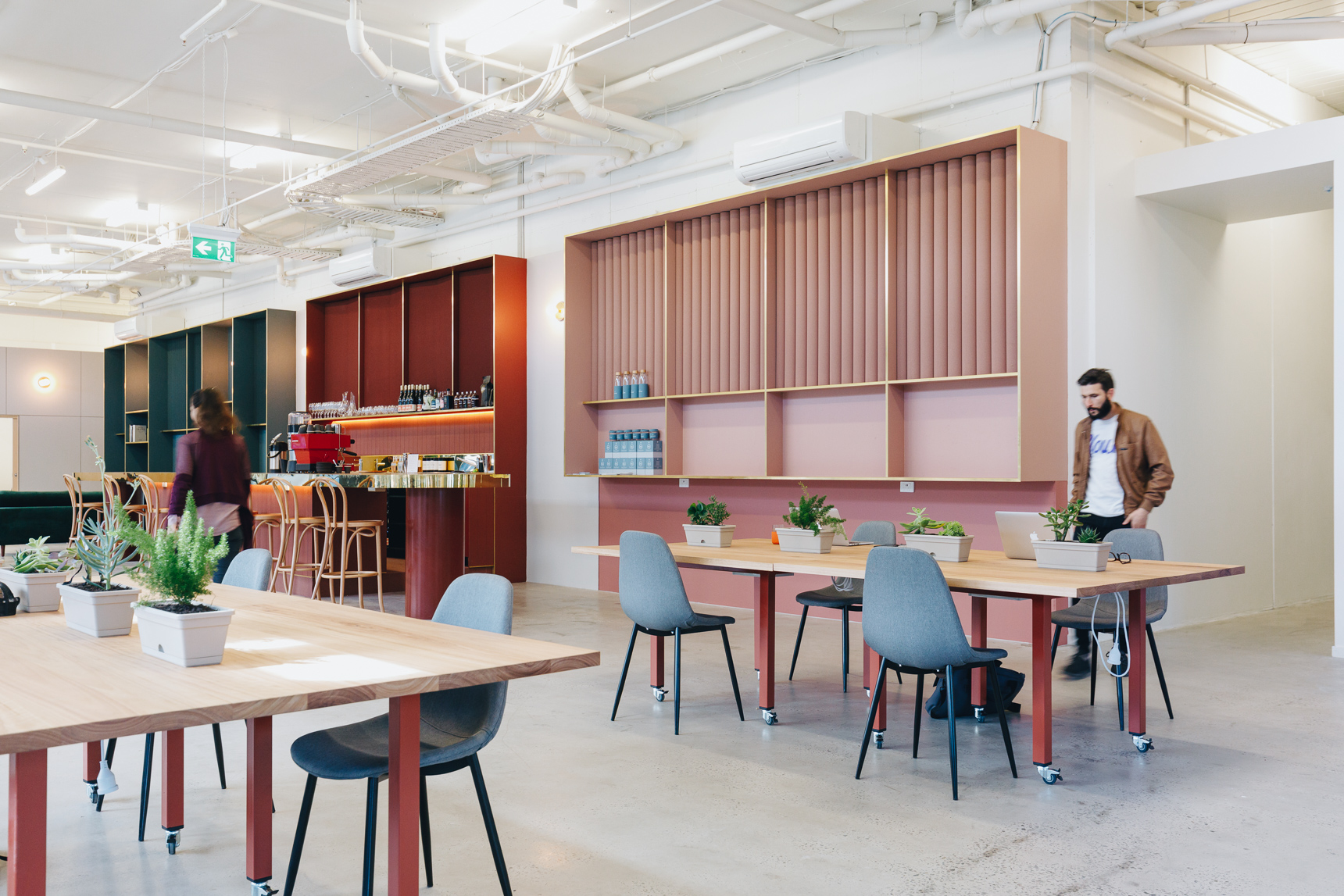 Inside Worksmith / Photography: Jake Roden