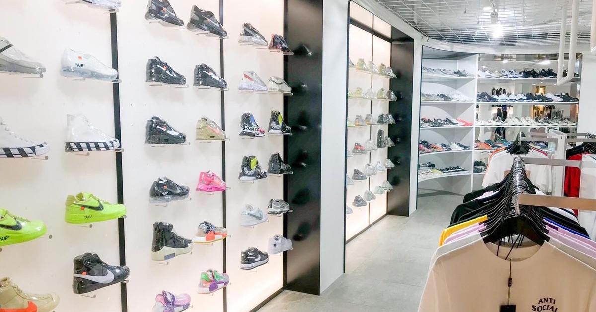 73e12171079 Now Open: A Not So Secret, Limited-Edition Sneaker Store - Broadsheet