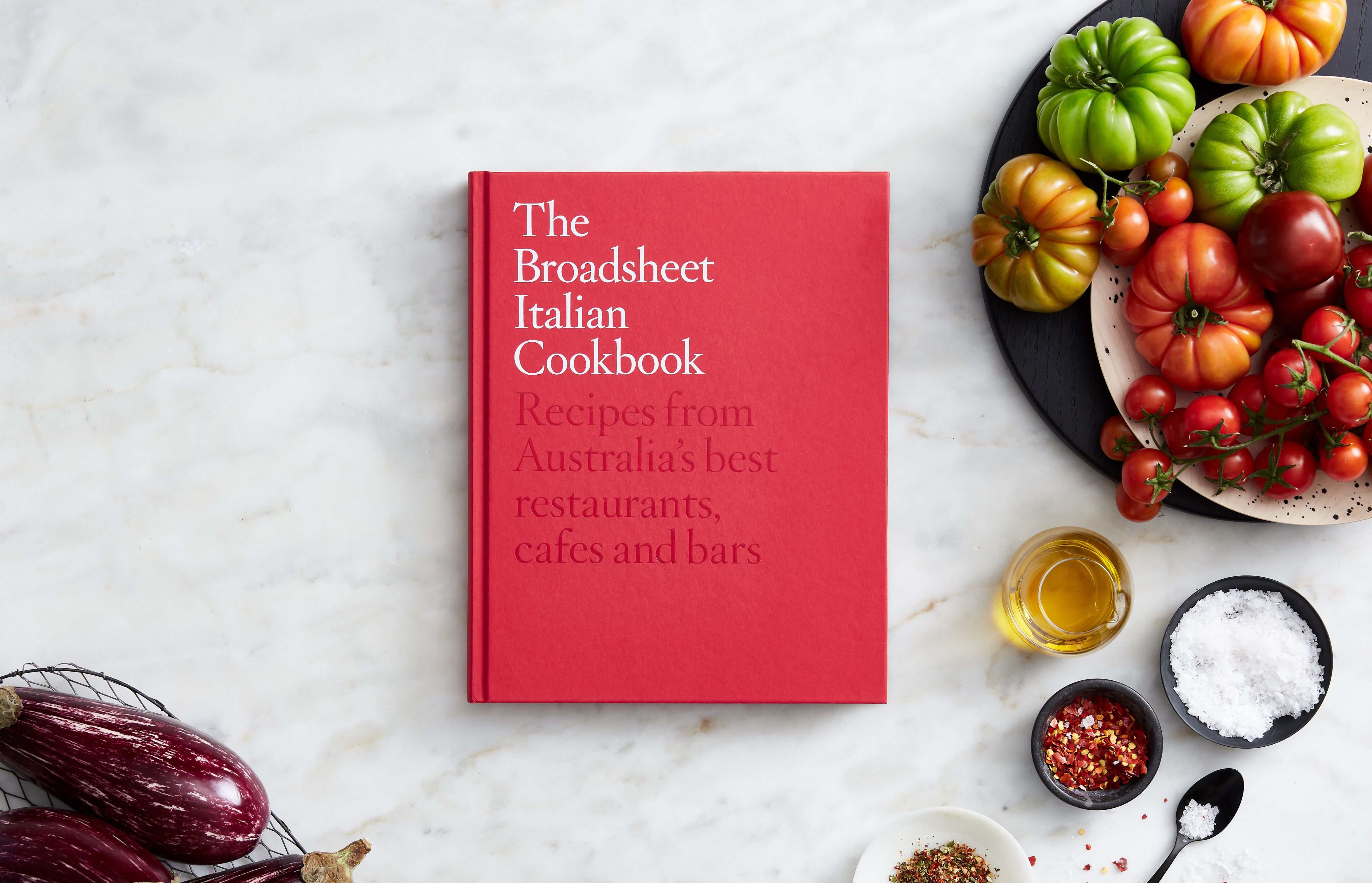 October 2018 – The Broadsheet Italian Cookbook goes on sale | Photography by Peter Marko
