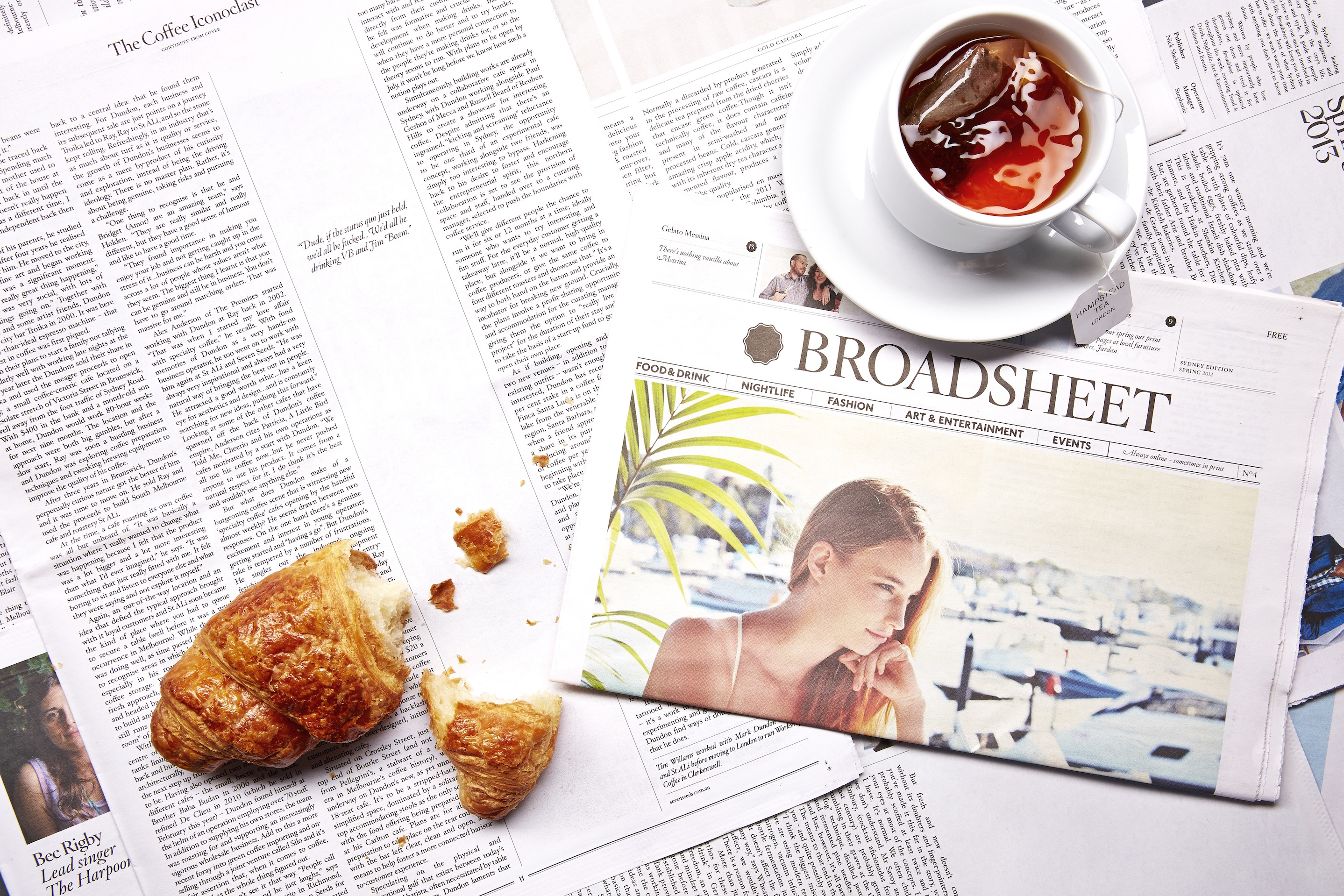 October 2012 – Broadsheet Sydney publishes its fourth print issue | Photography by Daniel Herrmann-Zoll