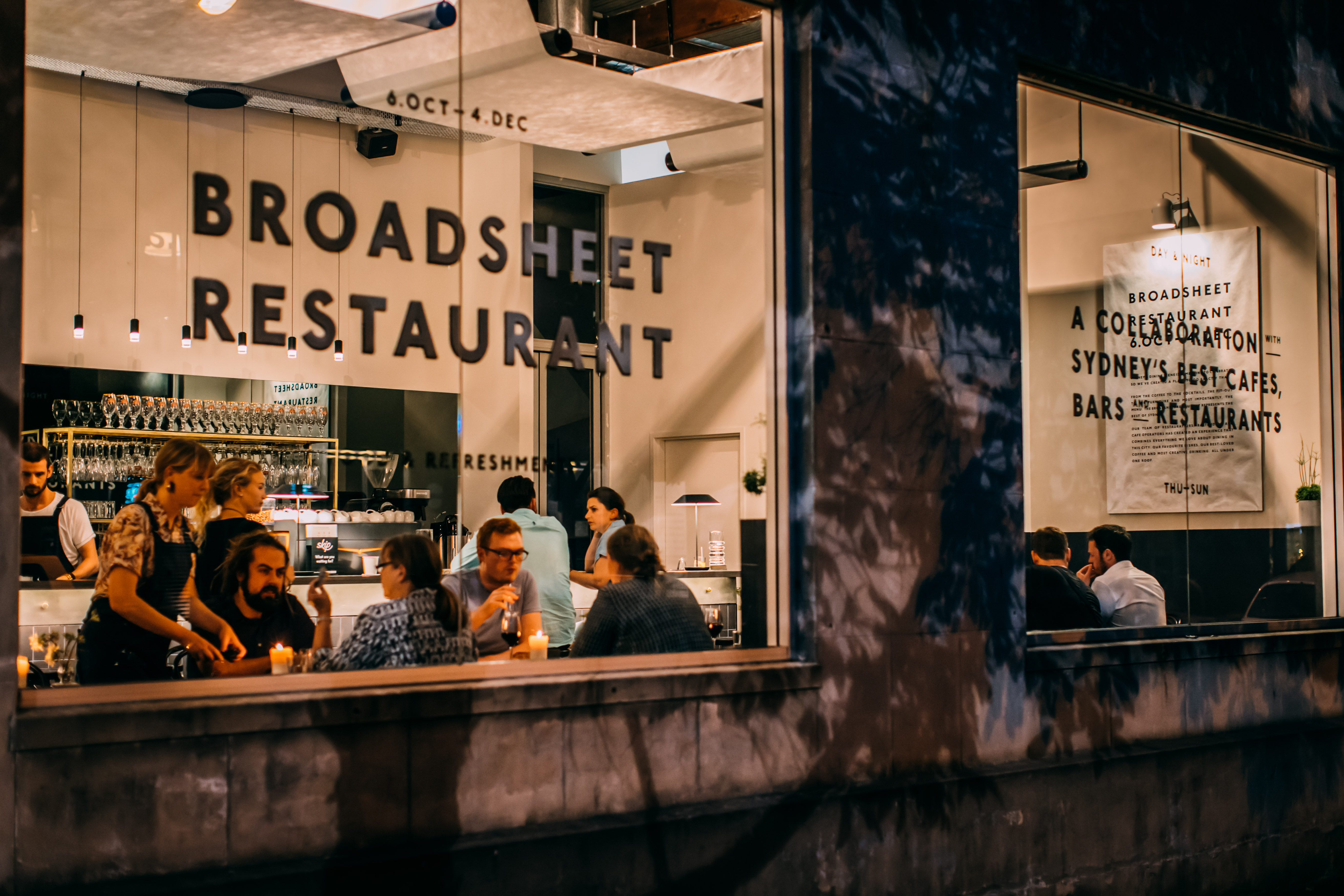 October 2016 – The Broadsheet Restaurant opens in Waterloo, Sydney | Photography by Nikki To