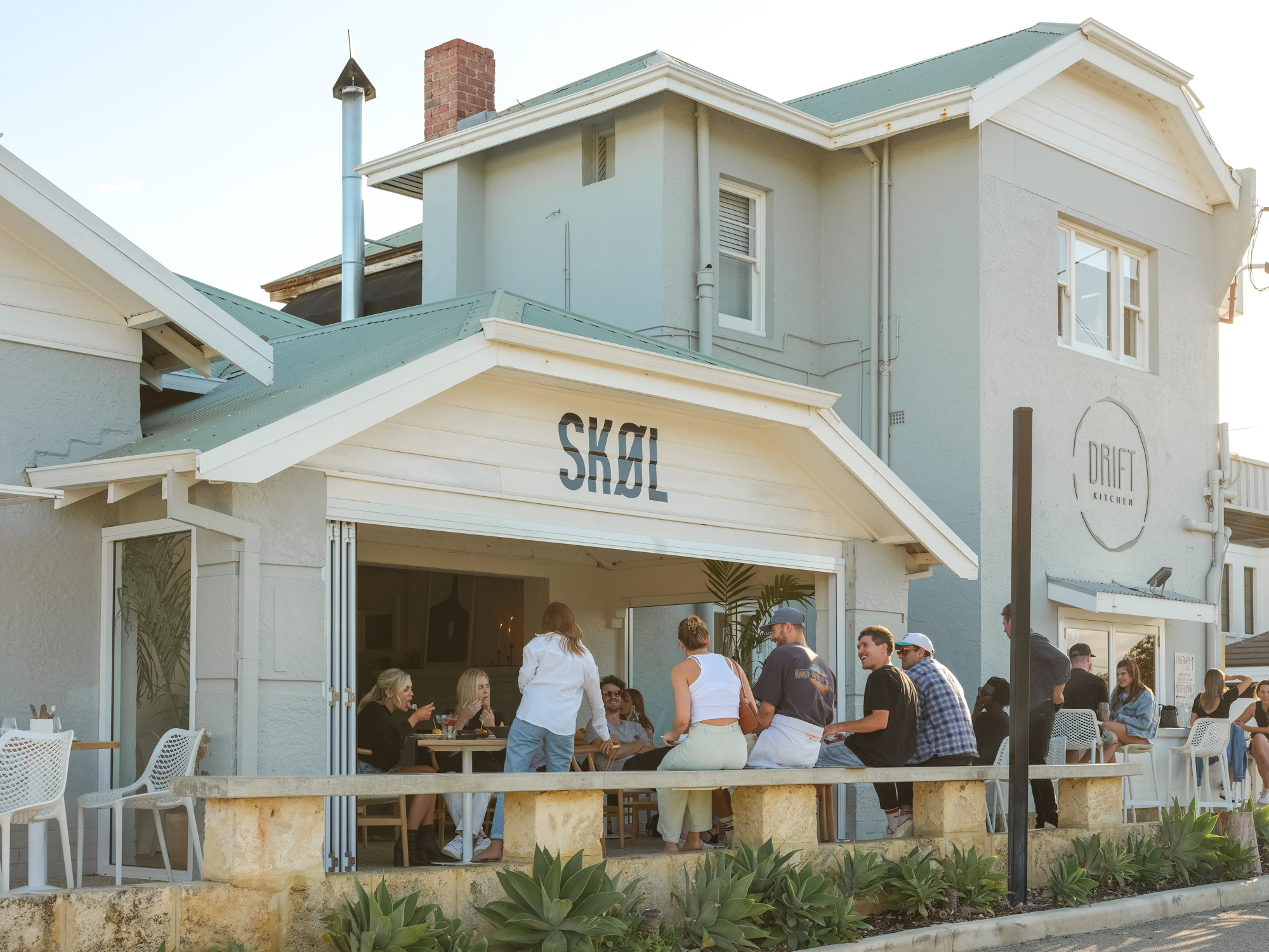 Skøl, a Scandinavian-influenced cocktail bar in Scarborough, a beachside suburb of Perth | Photography by Emma Pegrum