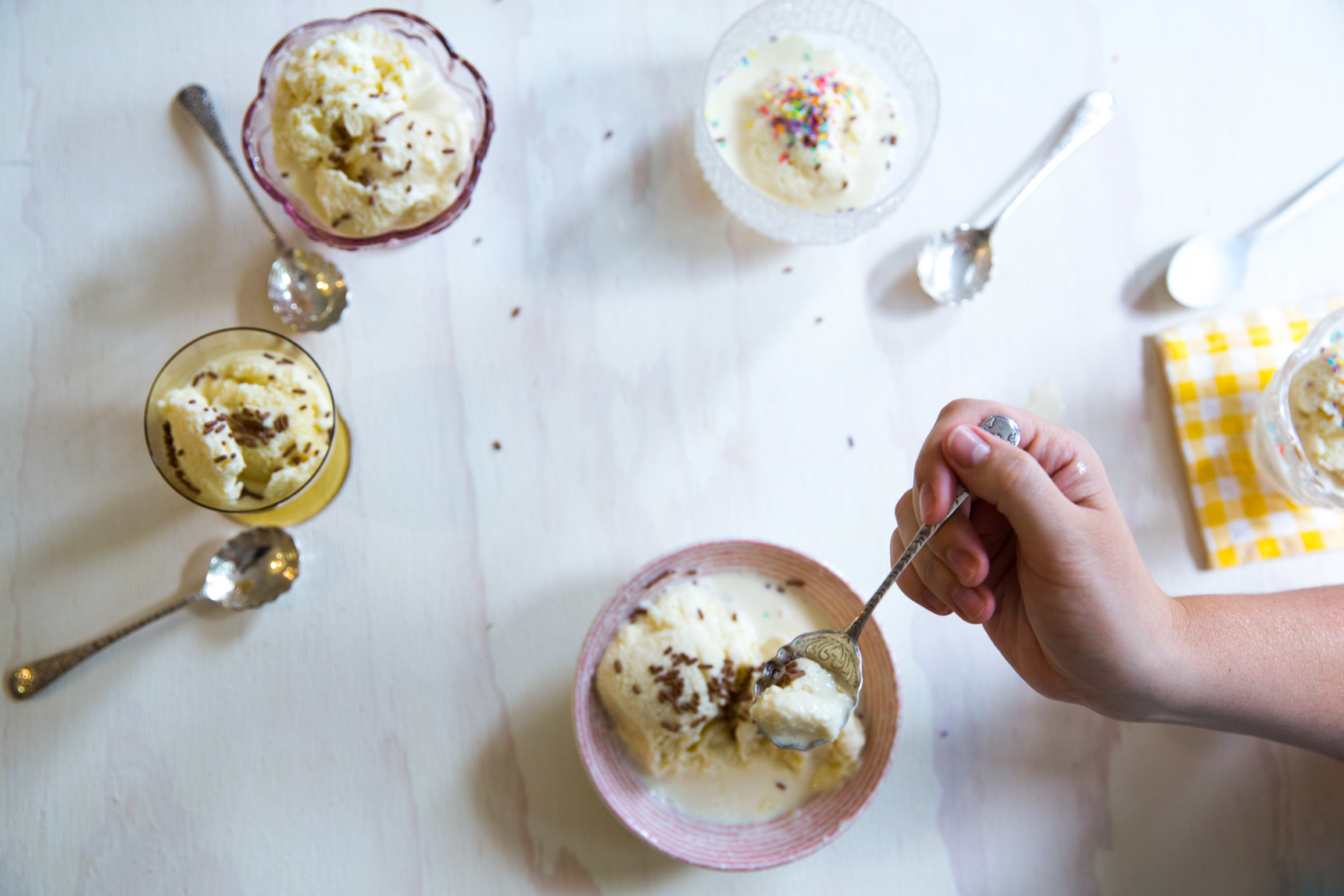 Ice Cream at Home with Pat and Sticks